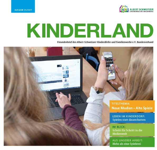 Kinderland 01/2017 - Spielen statt dauerchatten