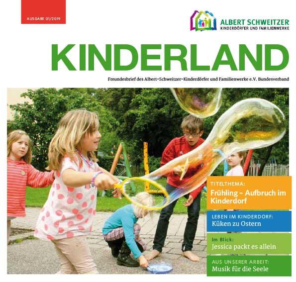 Kinderland 03/2018 - Schöpferische Kräfte