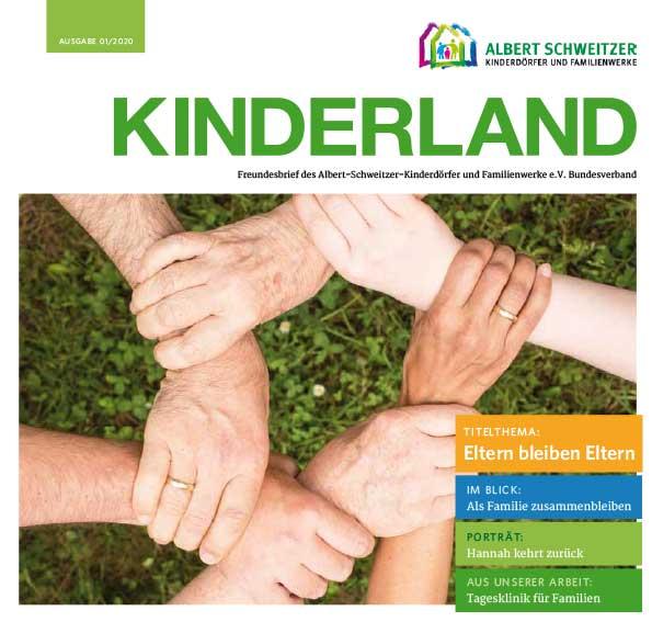 Kinderland 01/2020 - Eltern bleiben Eltern