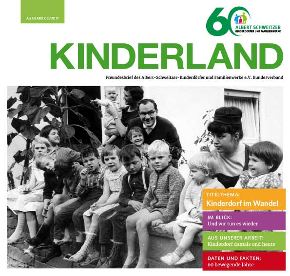 Kinderland 02/2017 - Kinderdorf im Wandel
