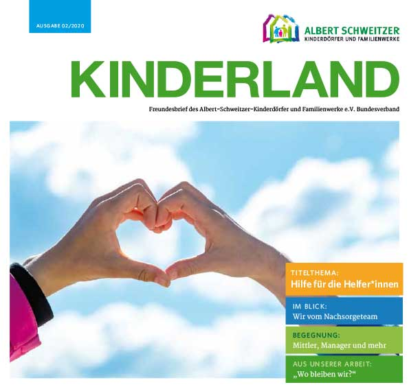 Kinderland 02/2020 - Hilfe für die Helfer*innen