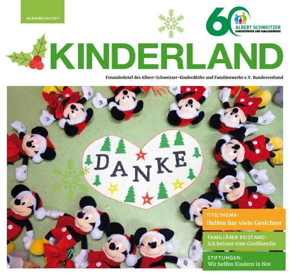 Kinderland 04/2017 - Helfen hat viele Gesichter